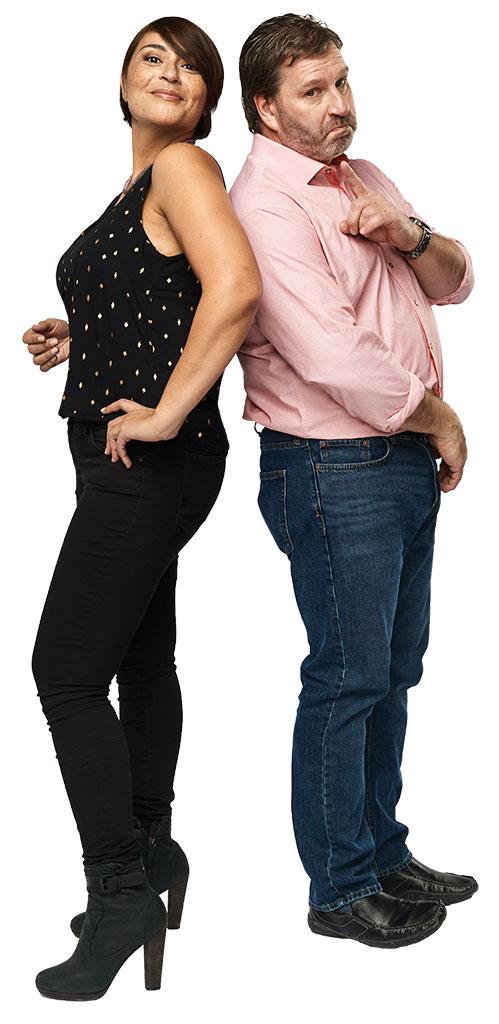 Mario Jean and Elisapie